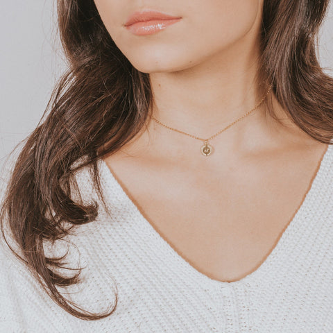 Laurel Chain Necklace