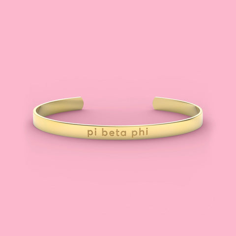 Pi Beta Phi Sorority Cuff