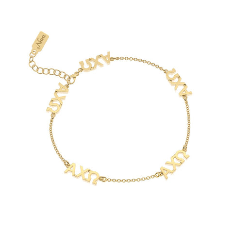 Alpha Chi Omega Multi Mini Bracelet