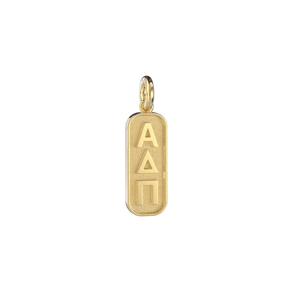 Alpha Delta Pi Mini Tag Charm