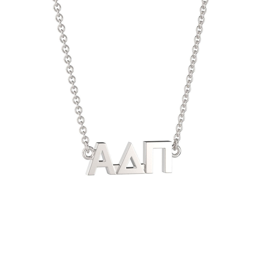 Alpha Delta Pi Signature Lavalier Necklace