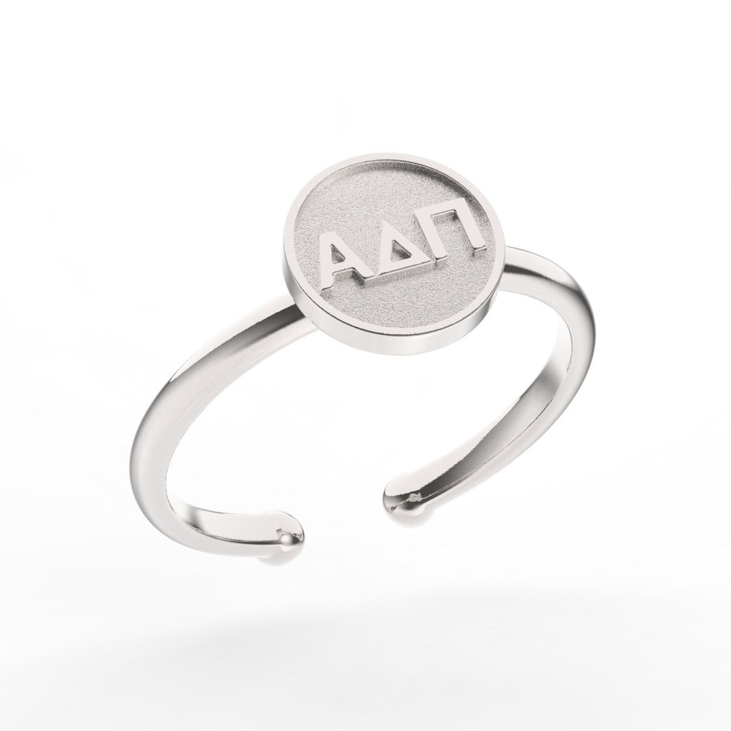 Alpha Delta Pi Disc Ring