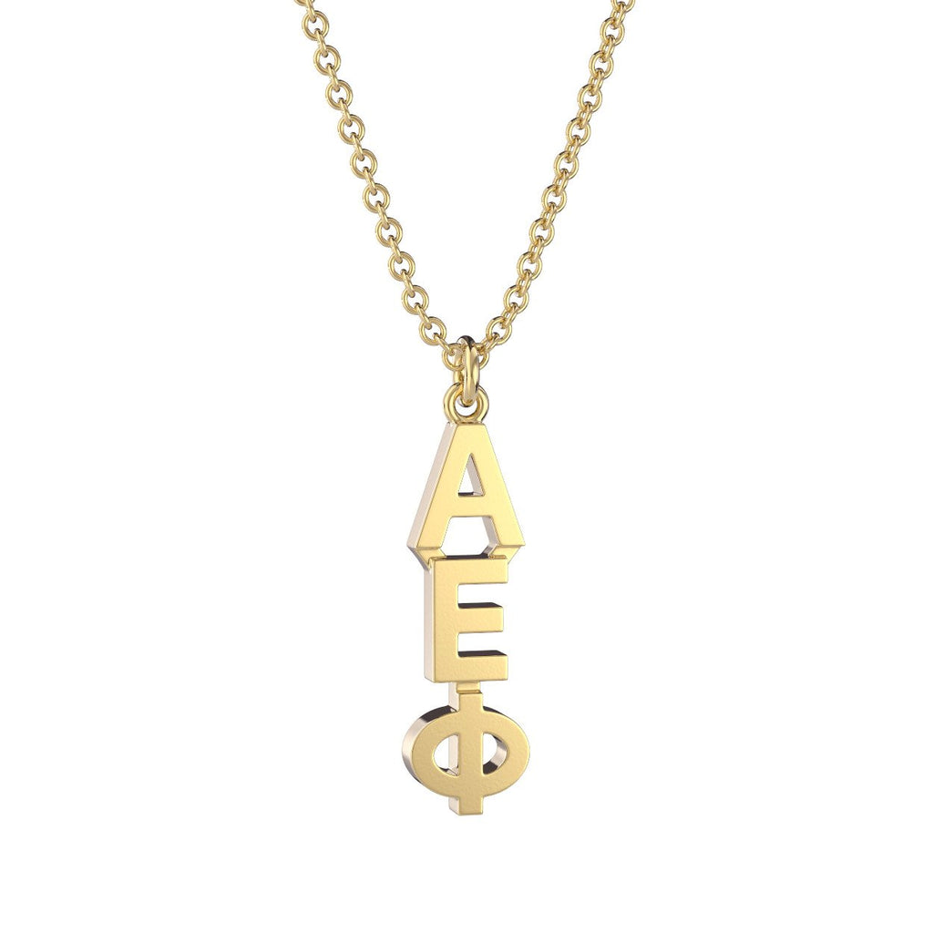 Alpha Epsilon Phi Classic Lavalier Necklace Nava New York