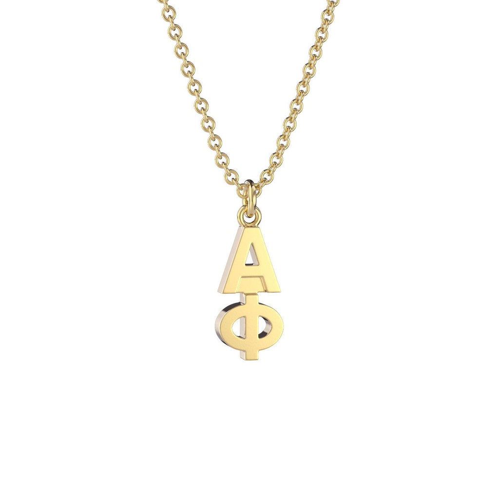 Alpha Phi Classic Lavalier Necklace