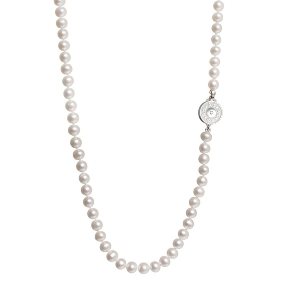Alpha Phi Pearl Necklace