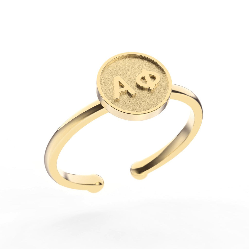 Alpha Phi Disc Ring