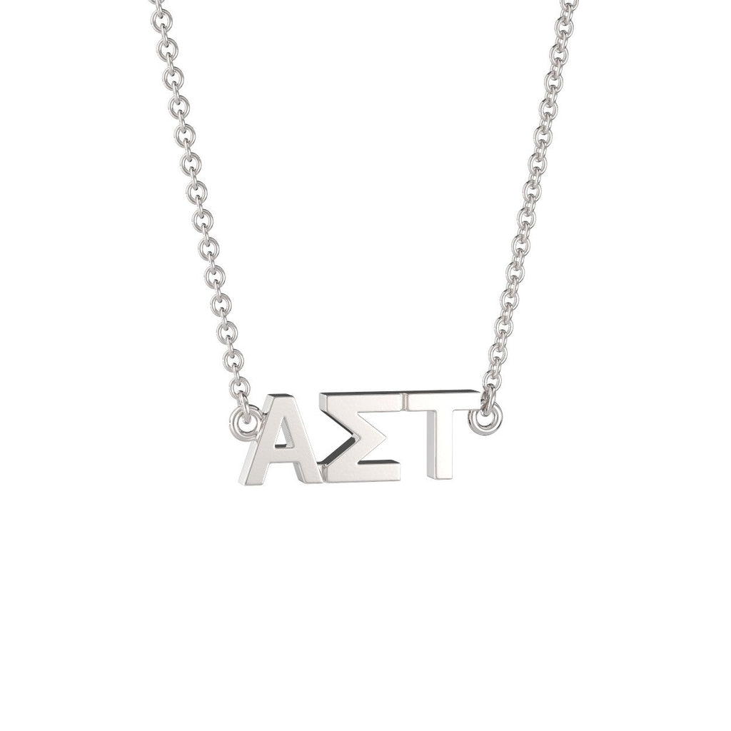 Alpha Sigma Tau Signature Lavalier Necklace