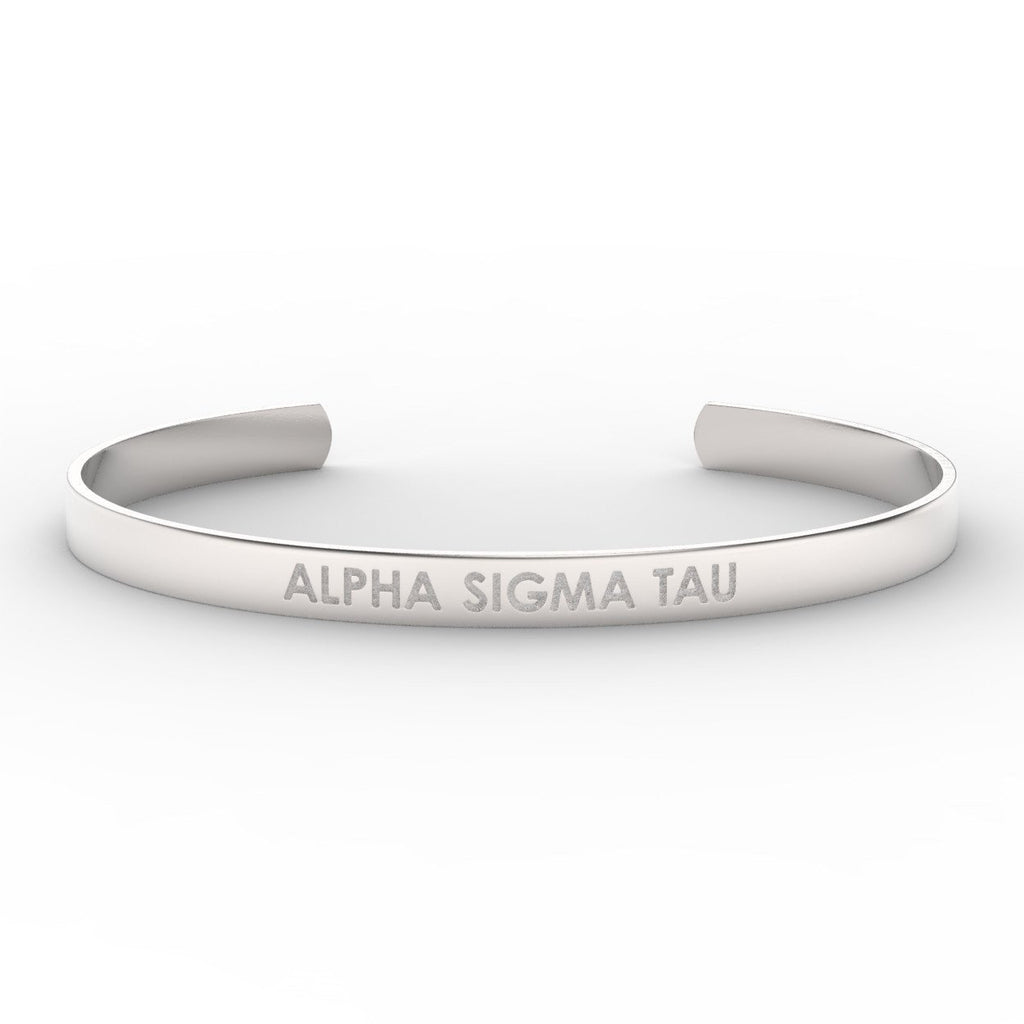 Alpha Sigma Tau Sorority Cuff
