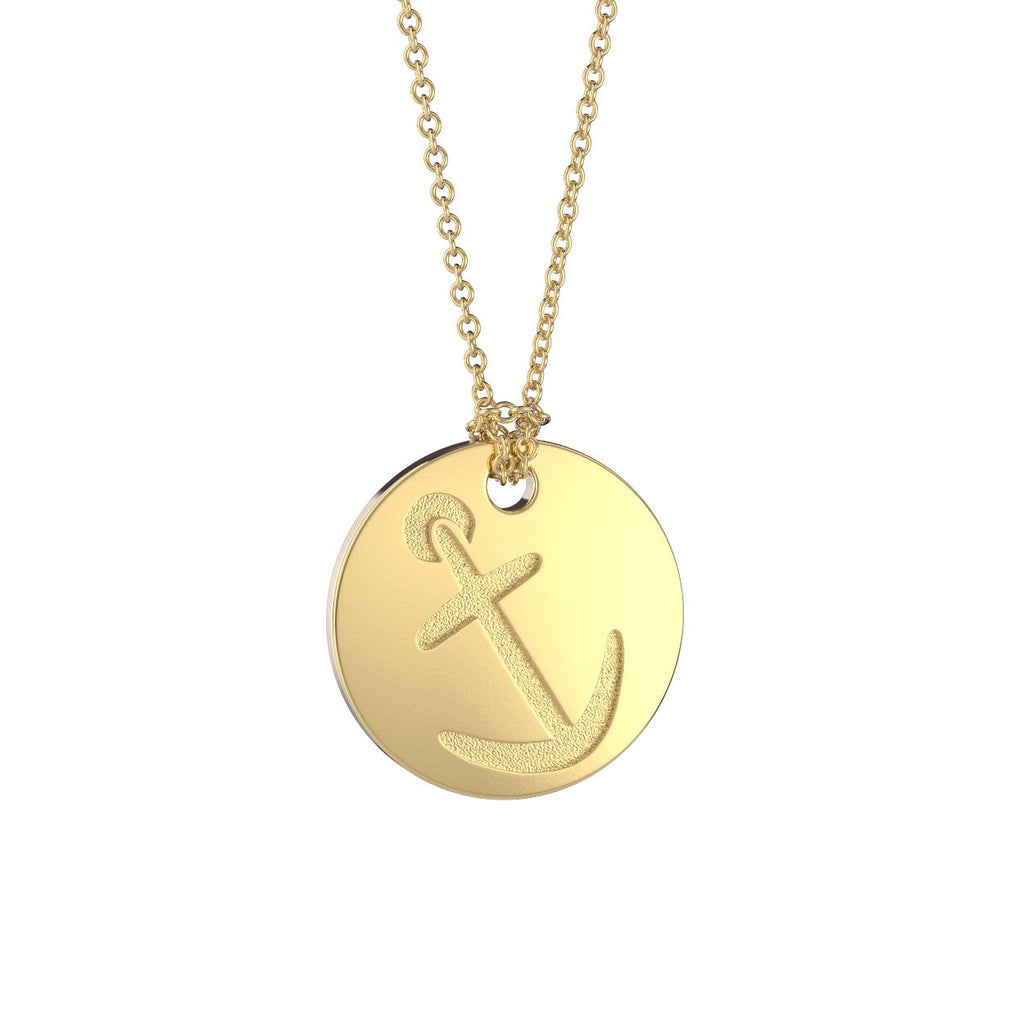 Alpha Sigma Tau Sorority Symbol Necklace Nava New York