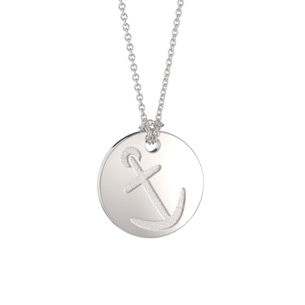 Alpha Sigma Tau Sorority Symbol Necklace