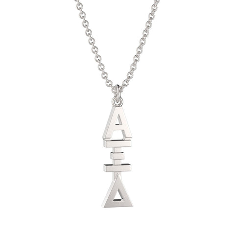 Alpha Xi Delta Classic Lavalier Necklace
