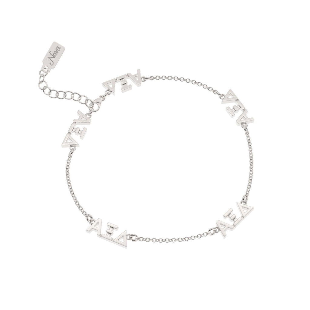 Alpha Xi Delta Multi Mini Bracelet