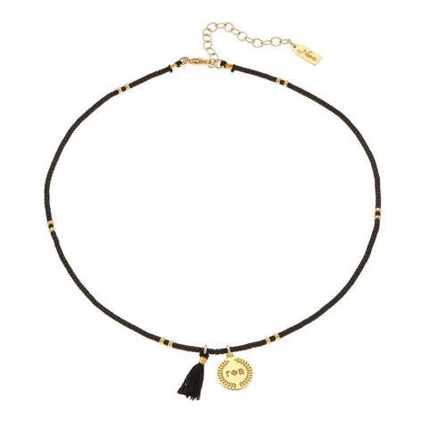 Gamma Phi Beta Beaded Choker