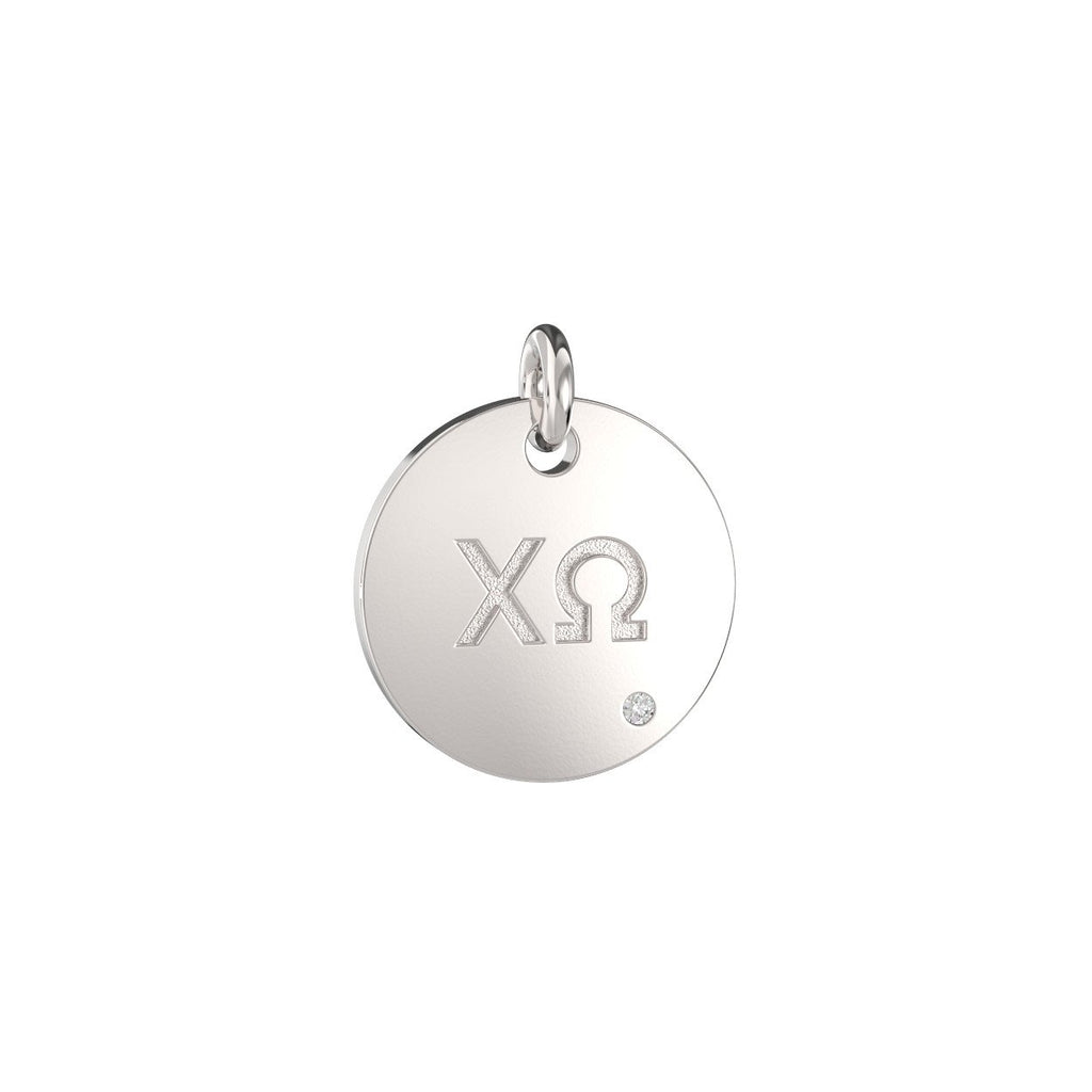 Chi Omega Coin Charm