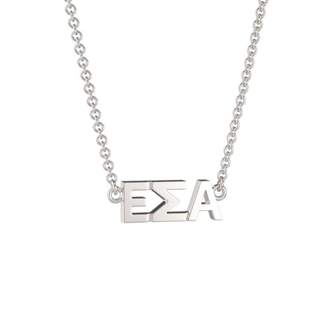 Epsilon Sigma Alpha Signature Lavalier Necklace