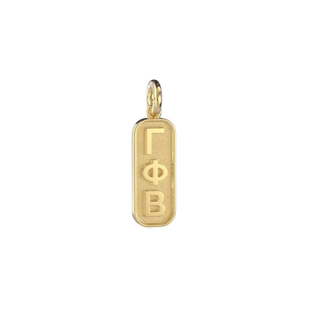 Gamma Phi Beta Mini Tag Charm