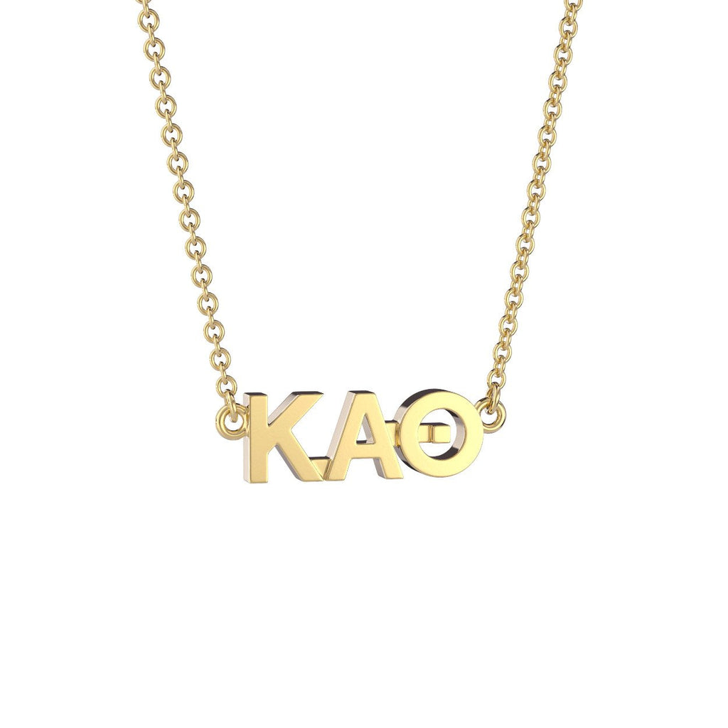 Kappa Alpha Theta Signature Lavalier Necklace Nava New York