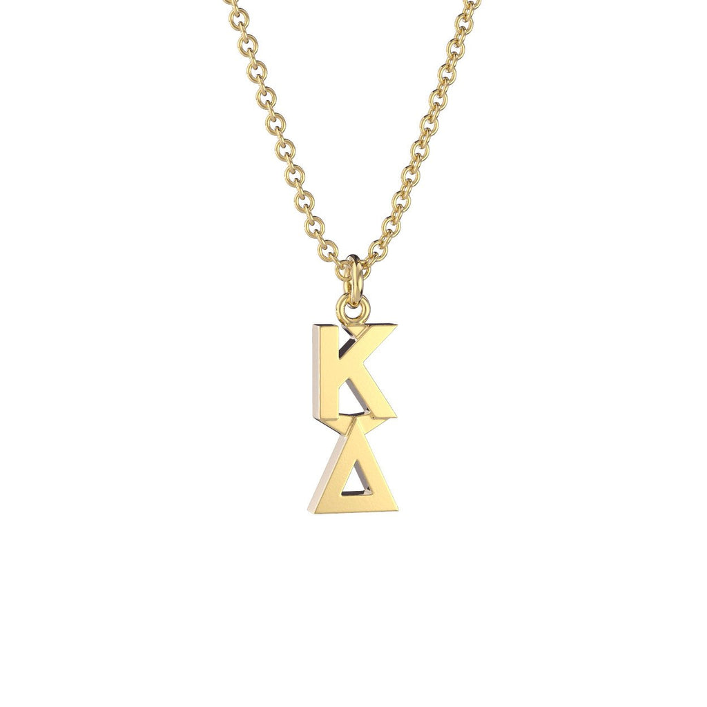 Kappa Delta Classic Lavalier Necklace