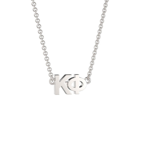 Kappa Phi Signature Lavalier Necklace