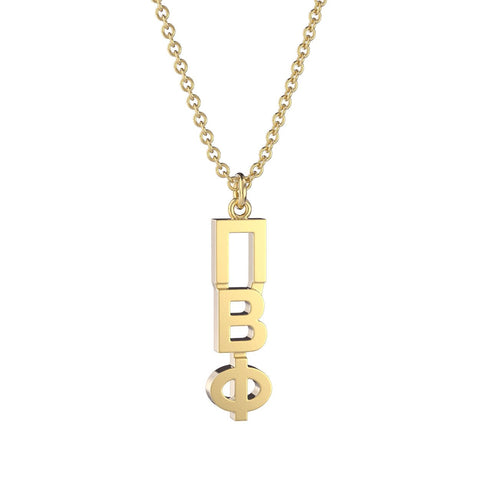 Pi Beta Phi Classic Lavalier Necklace