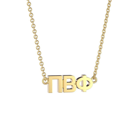 Pi Beta Phi Signature Lavalier Necklace