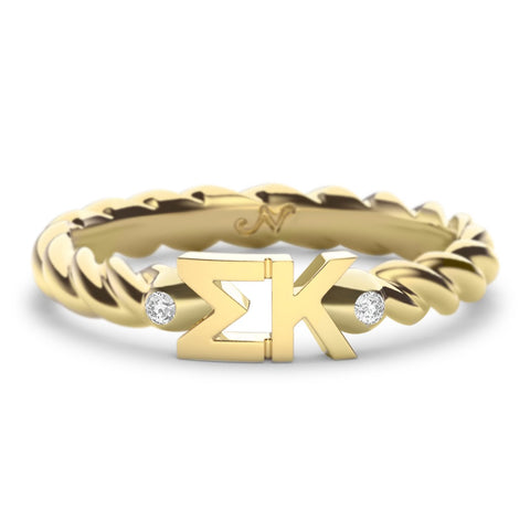 Sigma Kappa Twist Ring