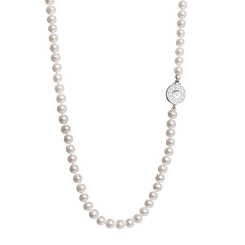 Sigma Sigma Sigma Pearl Necklace
