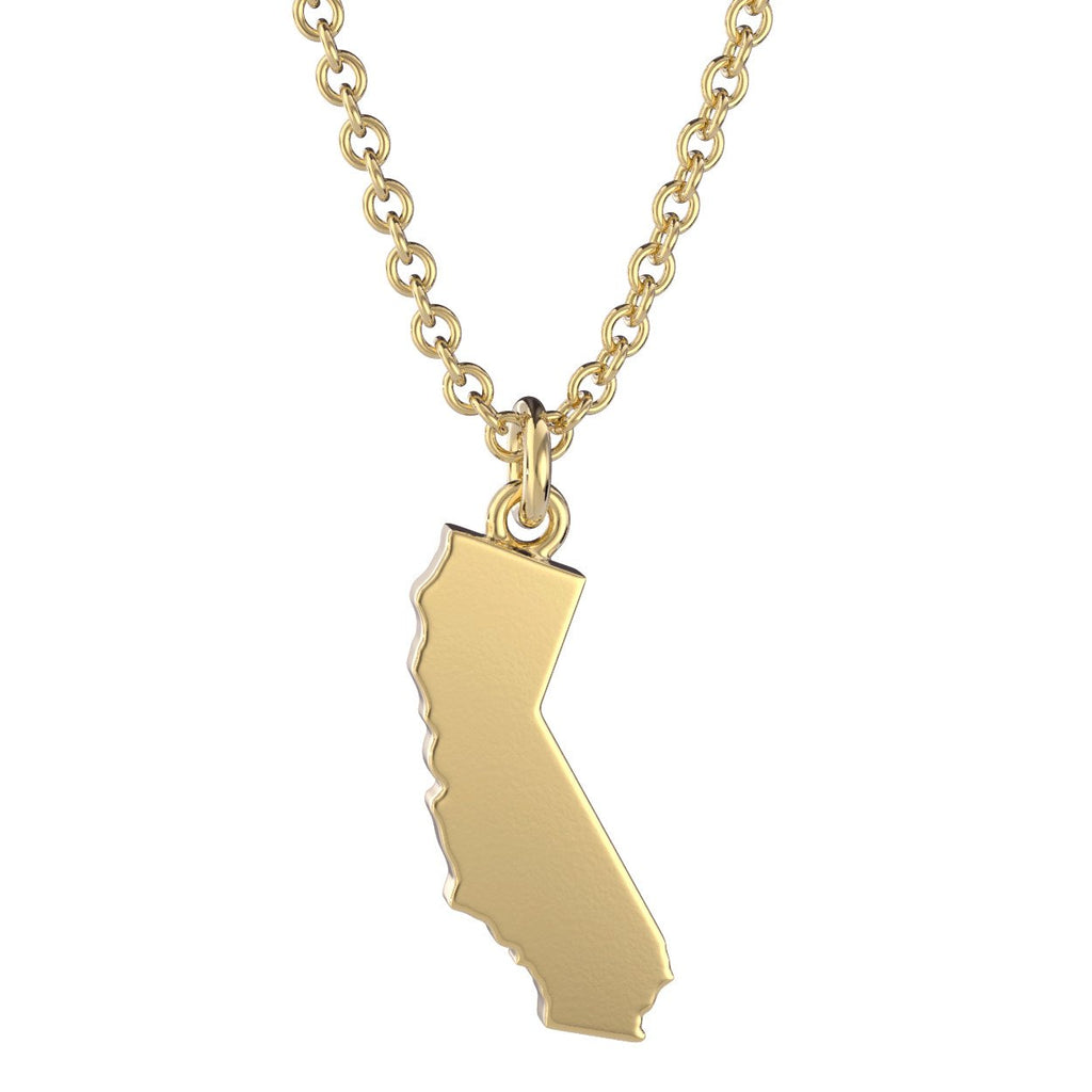 California State Charm Necklace