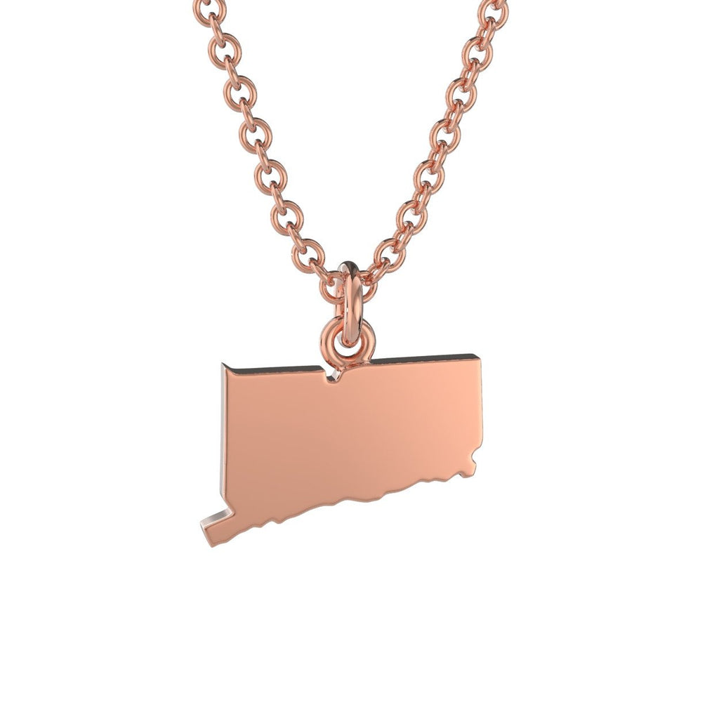 Connecticut State Charm Necklace