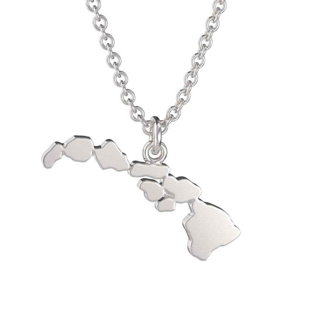 Hawaii State Charm Necklace