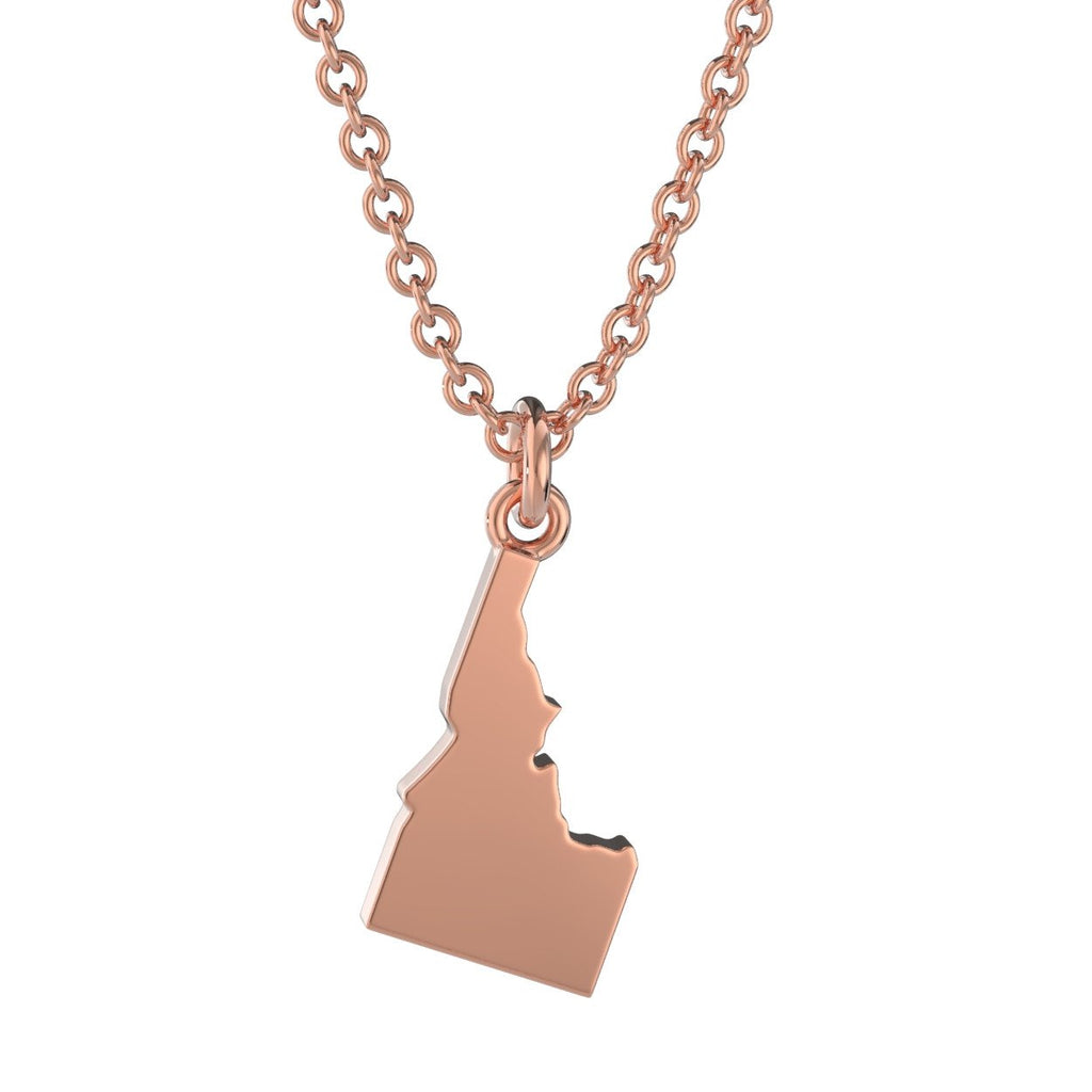 Idaho State Charm Necklace
