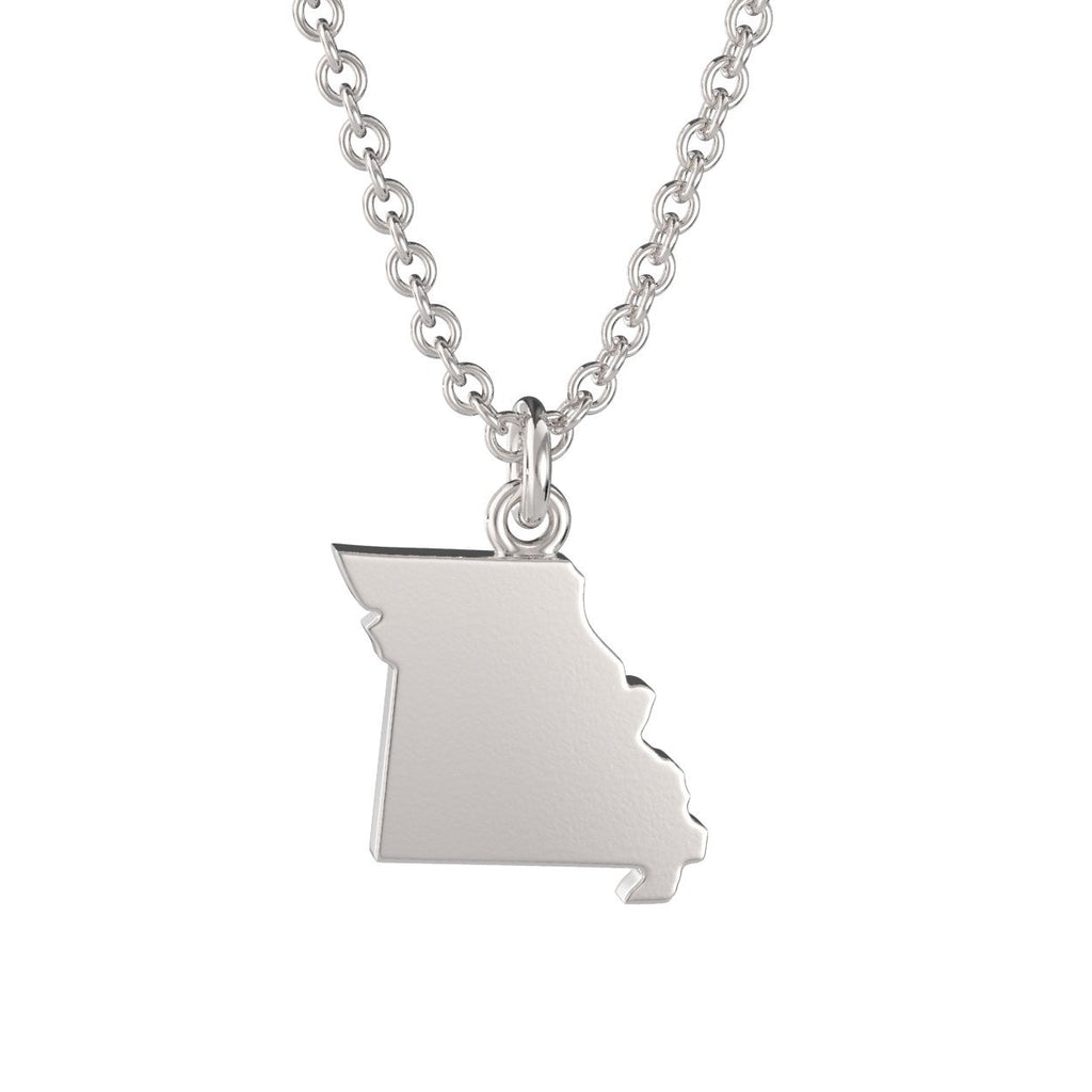 Missouri State Charm Necklace