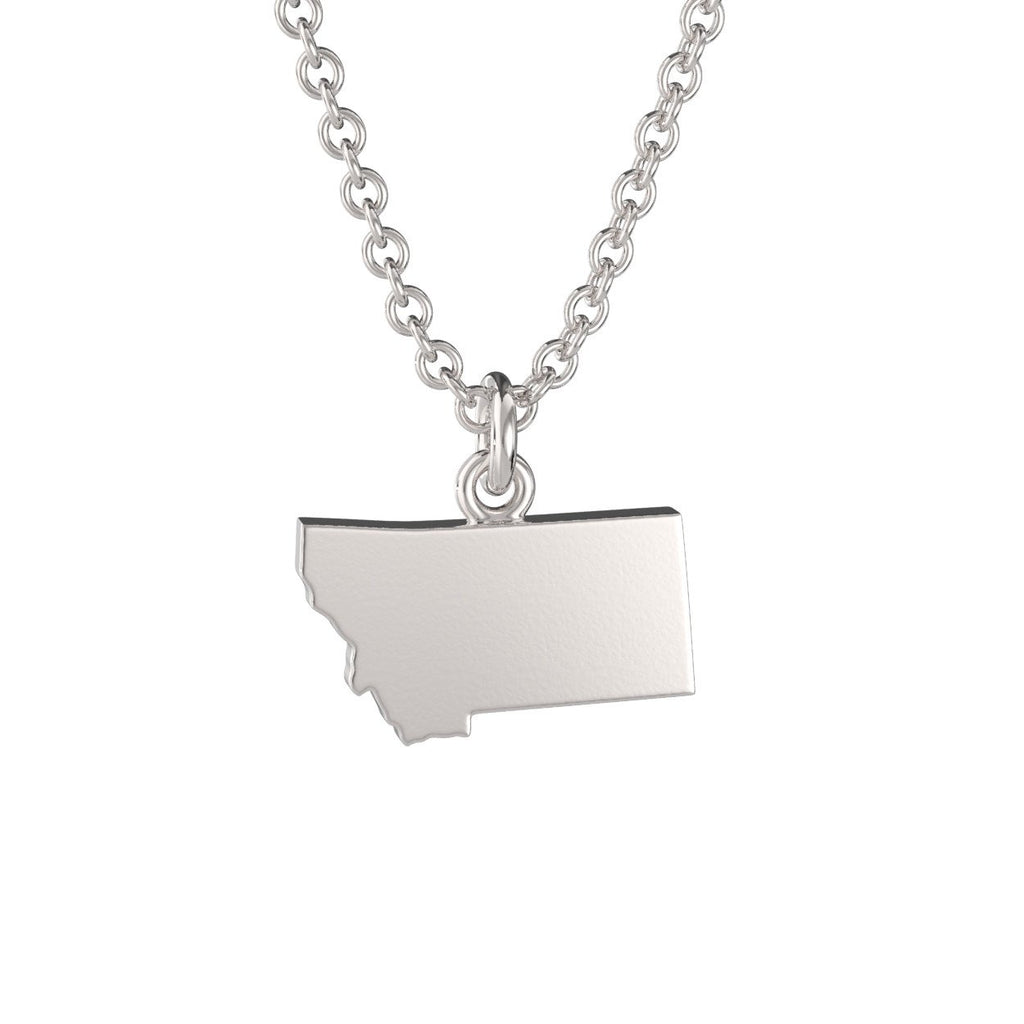 Montana State Charm Necklace