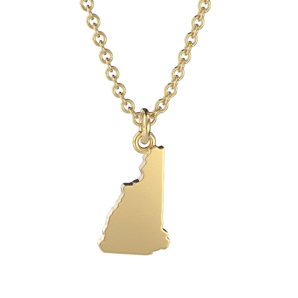 New Hampshire State Charm Necklace