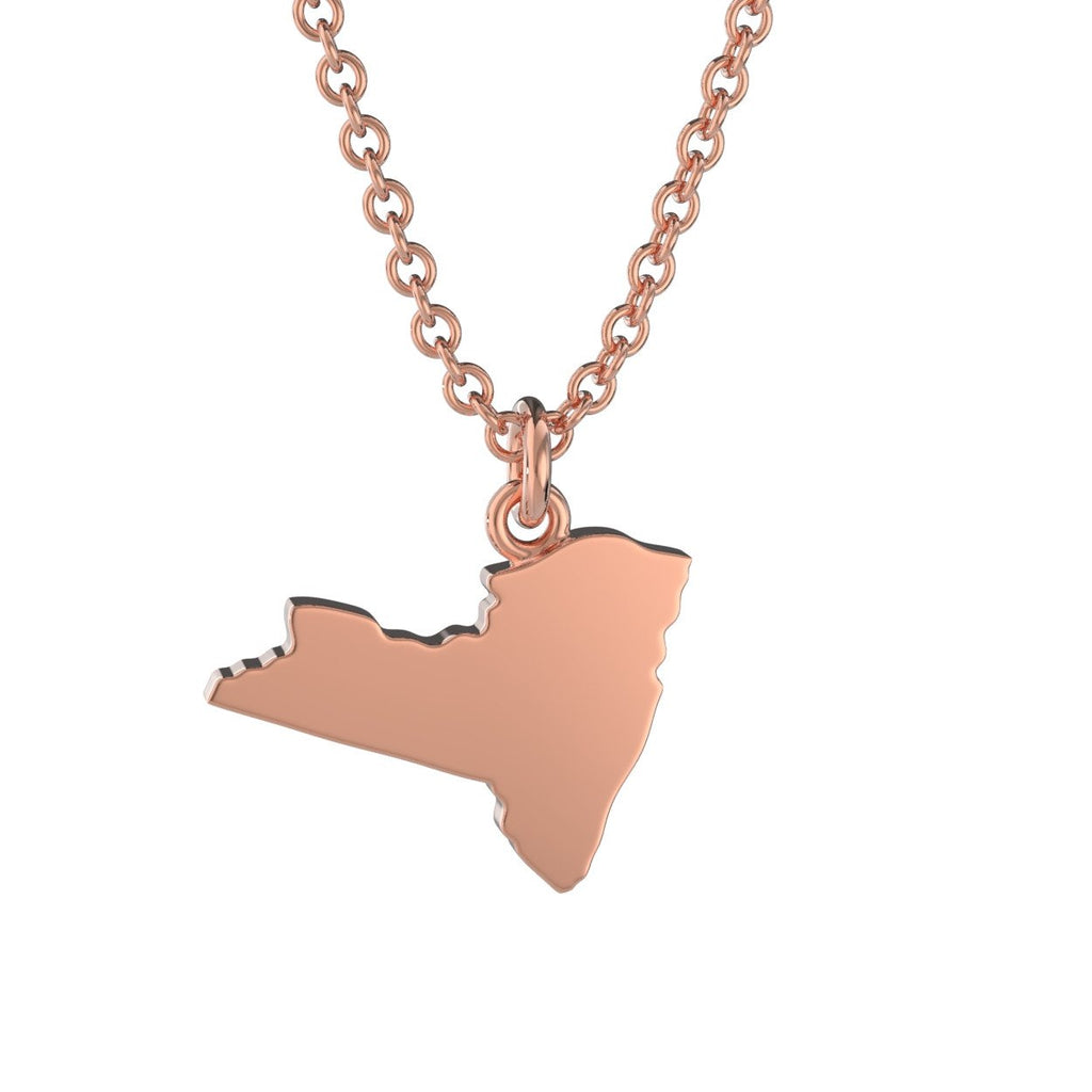 New York State Charm Necklace