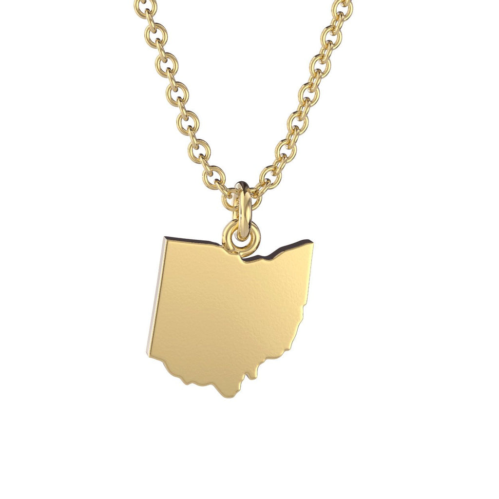 Ohio State Charm Necklace