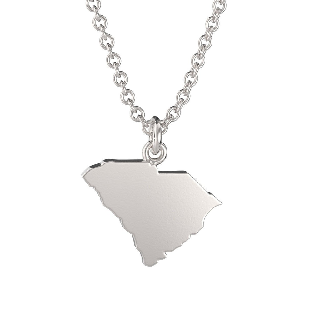 South Carolina State Charm Necklace
