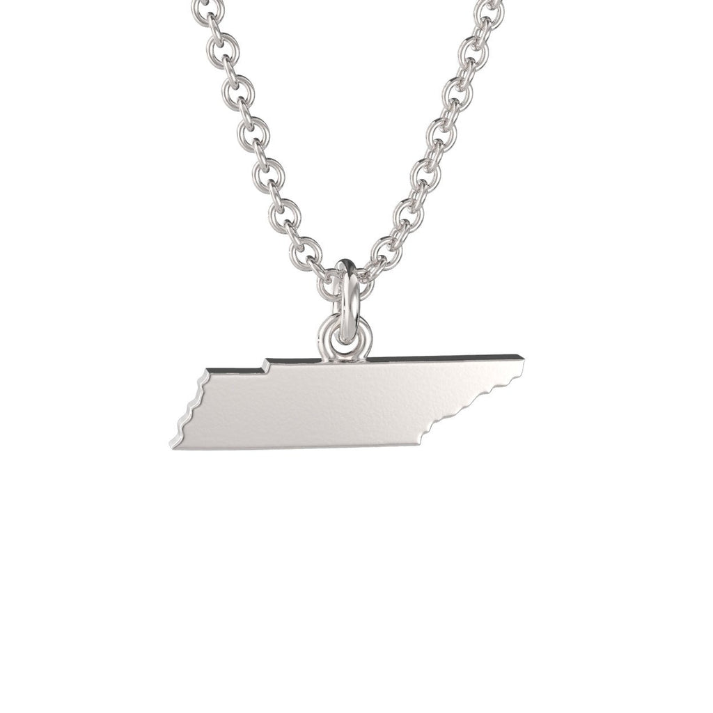 Tennessee State Charm Necklace