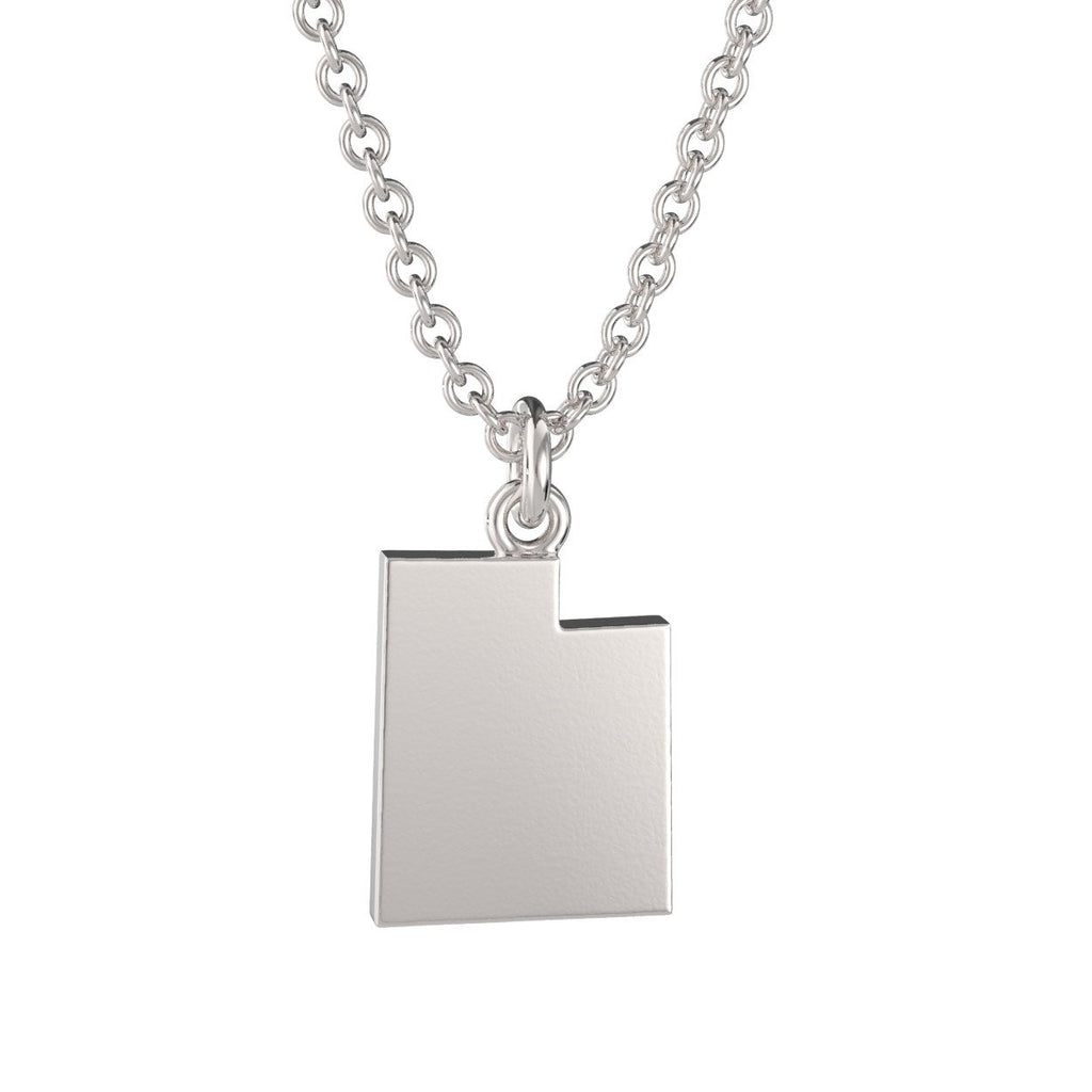Utah State Charm Necklace