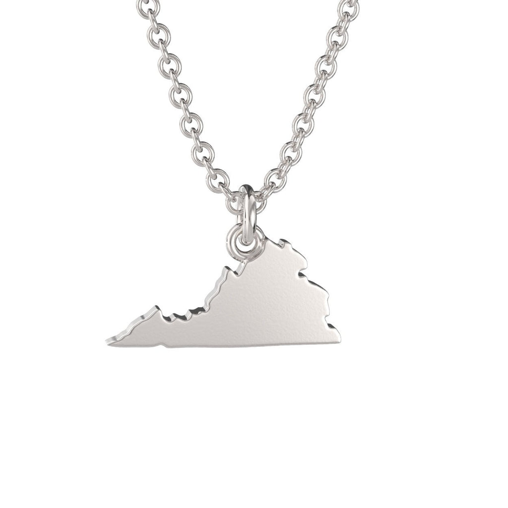 Virginia State Charm Necklace