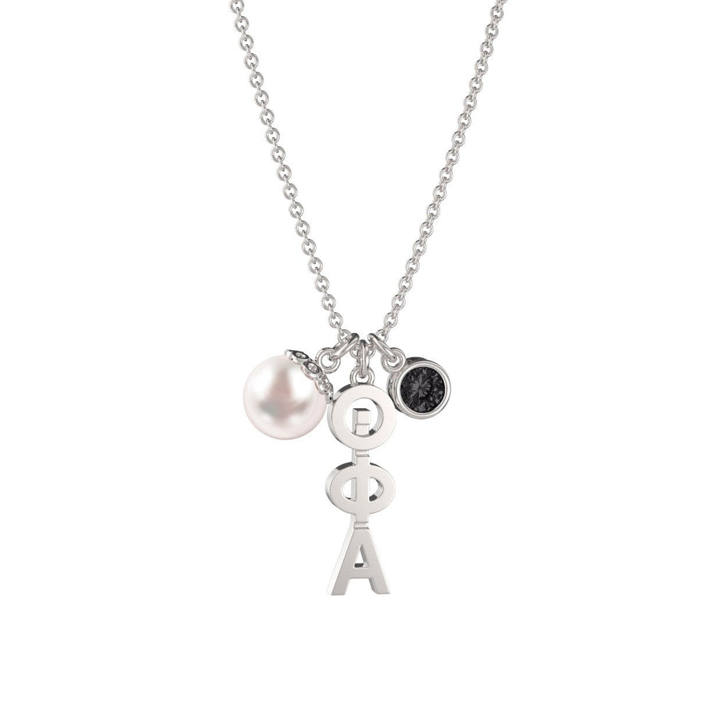 Theta Phi Alpha Triple Charm Necklace