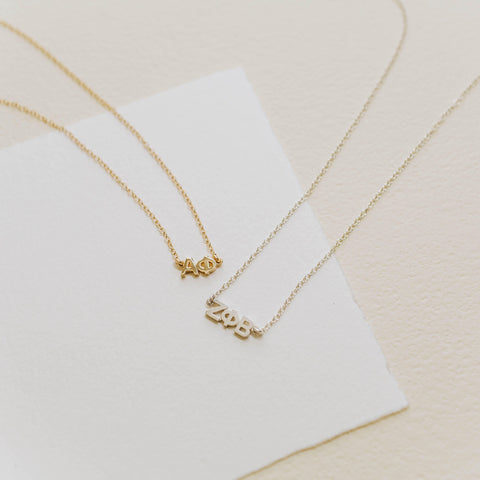 Social Sale | Custom Signature Lavalier Necklace