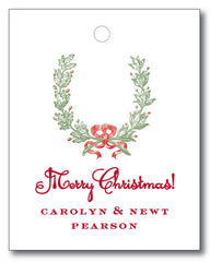Christmas Tags - Laurel with Berries