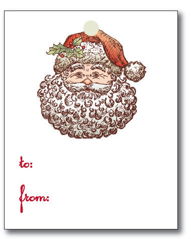 Christmas Tags - Santa to/from