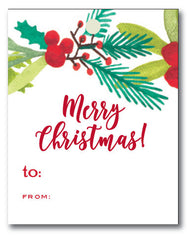 Christmas Tags - Christmas Garland to/from