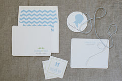 24 Enclosures & 12 Notecard Set - for baby