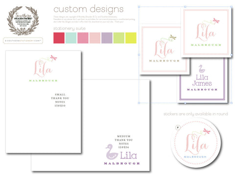Note Sets - Your choice of design