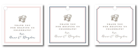 (QTY 24) Anne & Brayden Gift Tags