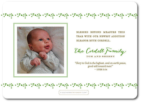 Family Birth Announcement