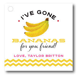 """I've gone Bananas for You"" Valentine"